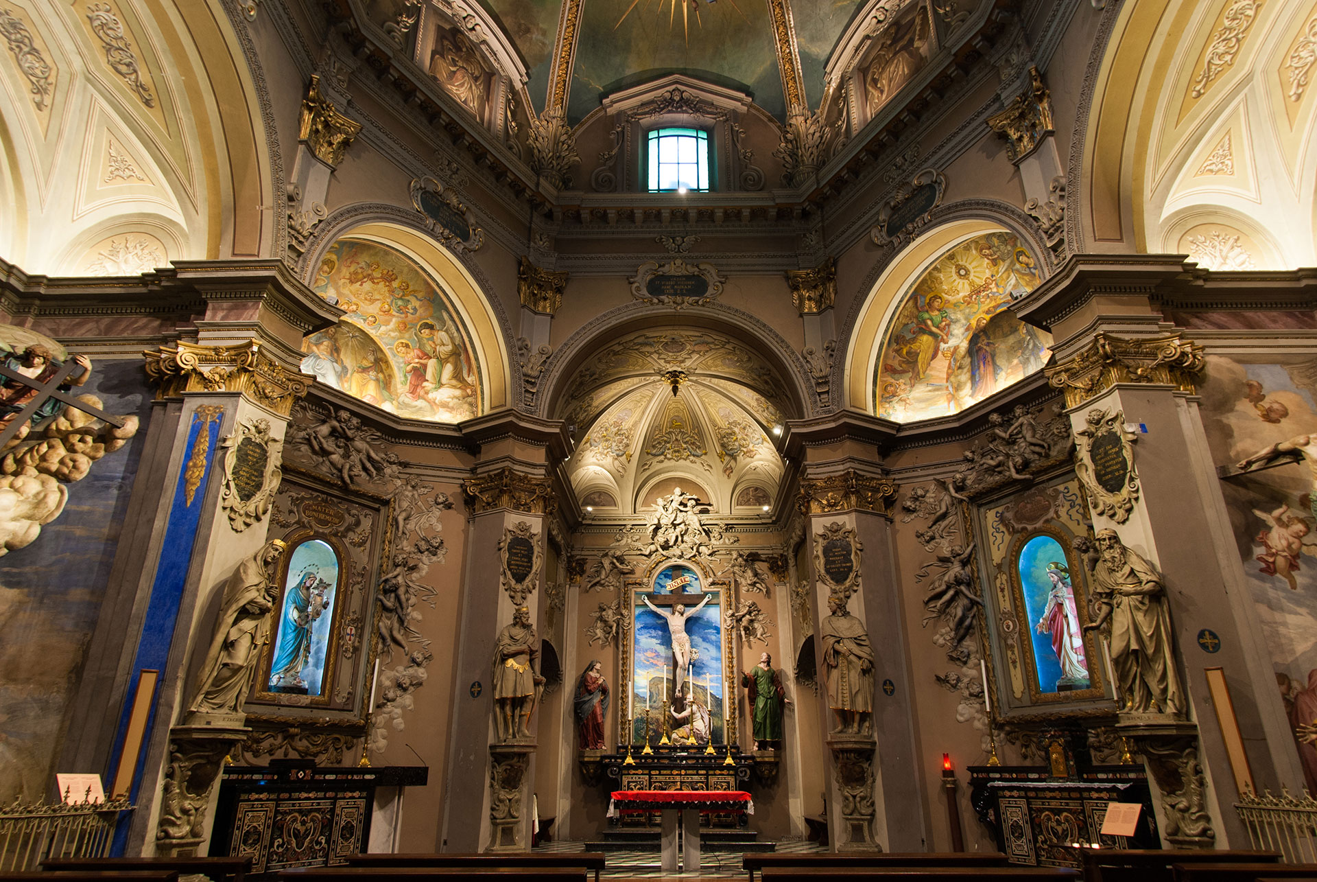 ARCHITECTURAL AND FUNCTIONAL LIGHTING – SACRO MONTE CALVARIO DOMODOSSOLA