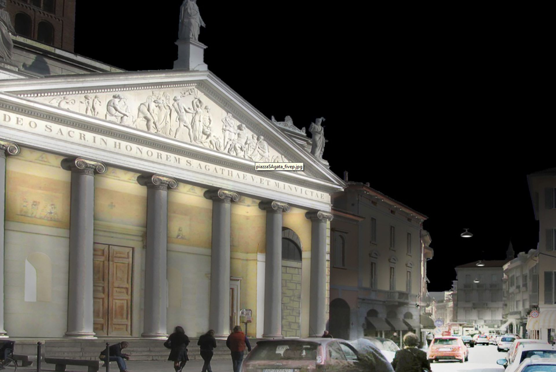 MONUMENTAL ARTISTIC LIGHTING PROJECT FOR THE CITY OF CREMONA