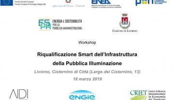 Workshop on Public Lighting in Livorno