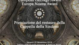 Award ceremony of the restoration of the Holy Shroud Chapel – Turin