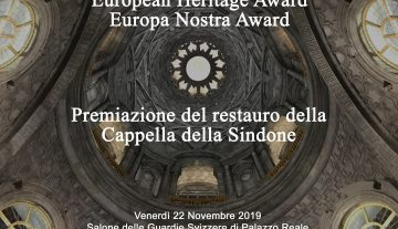 Award ceremony of the restoration of the Holy Shroud Chapel – Turin