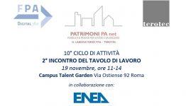 PATRIMONI PA NET – in collaborazione con ENEA